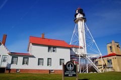 Whitefish Point Light Royalty Free Stock Photos