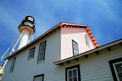 Whitefish Point Light Station Royalty Free Stock Photo