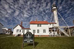 Whitefish Point Light Station Royalty Free Stock Image