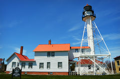 Whitefish Point LIghthouse Stock Images