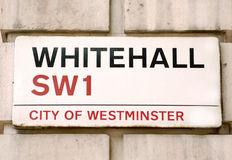 Whitehall Royalty Free Stock Image