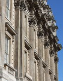Whitehall building facade Stock Image