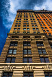 The Whitehall Building, in Lower Manhattan, New York. Royalty Free Stock Photo