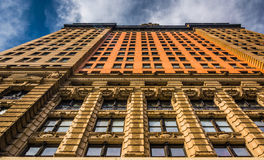 The Whitehall Building, in Lower Manhattan, New York. Stock Photos