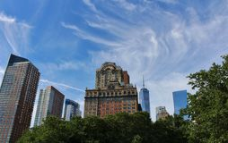 Whitehall Building, New York Royalty Free Stock Images
