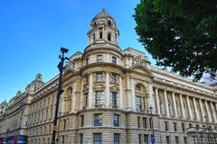 Whitehall, The Building on the Parliament St., London, England Royalty Free Stock Images