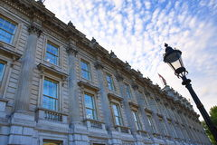 Whitehall, The Building on the Parliament St., London, England Royalty Free Stock Image