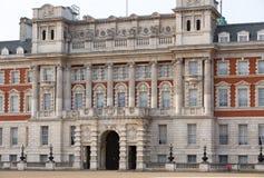 Whitehall, garde de cheval royale Palace Londres, R-U Photos libres de droits