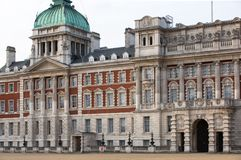 Whitehall, garde de cheval royale Palace Londres, R-U Photos stock