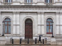 Whitehall  government building Stock Image