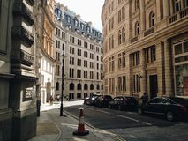 Whitehall, Londres Imagem de Stock Royalty Free