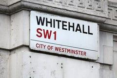 Whitehall, Londres Fotografía de archivo