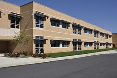 Whitehall Middle School in Pennsylvania Stock Image