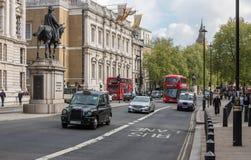 Whitehall-straat in Londen Stock Fotografie