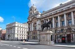 Whitehall-straat, Londen, het Verenigd Koninkrijk Stock Afbeeldingen
