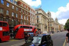 Whitehall ulica Londyn Obrazy Royalty Free