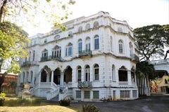 Whitehall w porcie Spain, Trinidad i Tobago, - - Zdjęcie Royalty Free