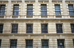 Whitehall Windows Royalty Free Stock Image