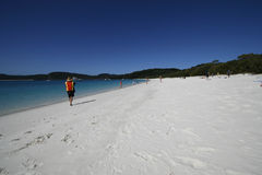 Whitehaven beach stock photography