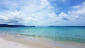 Whitehaven Beach in Australia stock photography