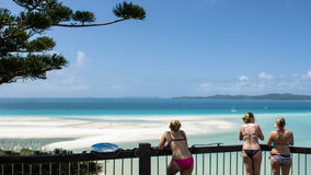 Whitehaven Beach, Australia. Colors of Whitehaven Beach in Queensland, Australia Royalty Free Stock Images