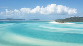 Whitehaven Beach, Australia. Colors of Whitehaven Beach in Queensland, Australia royalty free stock photos