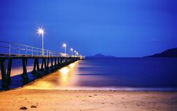 Whitehaven beach in Australia Stock Photo