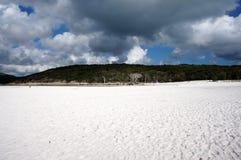 Whitehaven beach view Royalty Free Stock Photo
