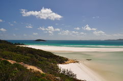 Whitehaven Beach - Whitsunday Islands Royalty Free Stock Photos