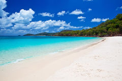 Whitehaven Beach in the Whitsundays. The amazing blue water of Whitehaven Beach in the Whitsundays is a very popular tourist location in Queensland, Australia Stock Photos