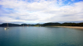 Whitehaven Beach. In the Whitsundays, Australia Royalty Free Stock Photography