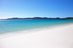 Whitehaven Beach in Whitsundays Stock Image