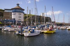 Whitehaven beacon museum. Whitehaven harbour and beacon museum Royalty Free Stock Photography