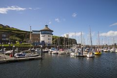 Whitehaven beacon museum. Whitehaven harbour and beacon museum Royalty Free Stock Image