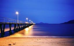 Whitehaven plaża w Australia Zdjęcie Stock