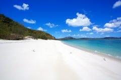 Whitehaven plaża Whitsundays Zdjęcia Royalty Free