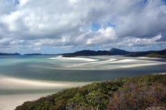 Whitehaven plaży widok Obraz Stock