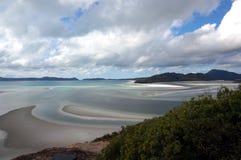 Whitehaven plaży widok Zdjęcia Stock