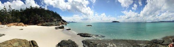 Whitehaven plaży widok Fotografia Stock