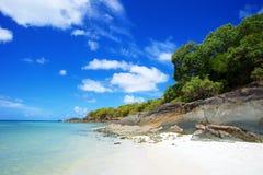 Whitehaven plaża Whitsundays Zdjęcia Stock