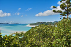 Whitehaven Strand, Queensland, Australien Lizenzfreie Stockfotos