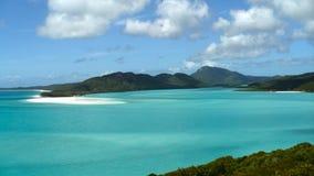 Whitehaven海滩Whitsunday海岛澳大利亚 免版税库存图片