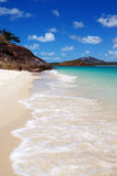 Whitehaven海滩Whitsundays 免版税库存照片
