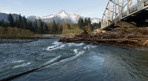 Whitehorse Mountain North Cascades Darrington WA Sauk River Stock Photography