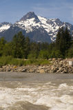 Whitehorse Mountain North Sauk River Cascade Mountains Washington Stock Photography
