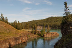 Whitehorse rapids Stock Photography