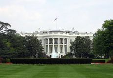 whitehouse лужайки южное Стоковое Изображение RF