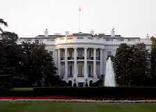 whitehouse royaltyfri foto
