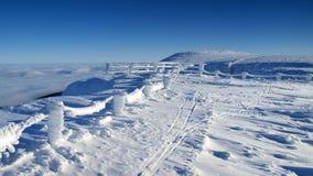 Whiteness in Giant Mountains / Karkonosze Royalty Free Stock Photography