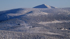 Whiteness in Giant Mountains / Karkonosze Stock Image